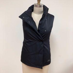 NWT UNDER ARMOUR ladies black nylon Primaloft vest